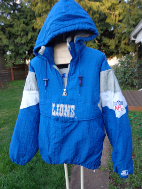 last time the Lions won in Wisconsin - starter jackets