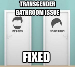transgender bathroom doors